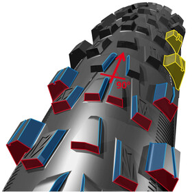 "Michelin Wild Race'R Enduro Rear - Pneu vélo - 29"" pliable noir"